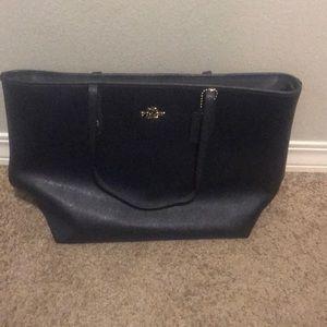 Coach laptop purse